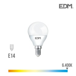 BOMBILLA ESFERICA LED E14...