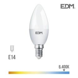 BOMBILLA VELA LED E14 5W...