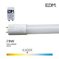 TUBO LED T8 9W 700 Lm 4000K...