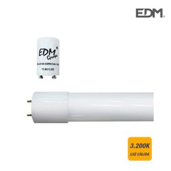 TUBO LED T8 9W 800 Lm 3200K...
