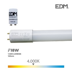 TUBO LED T8 18W 1500 Lm...