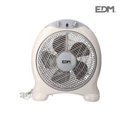ventilador Box Fan blanco...