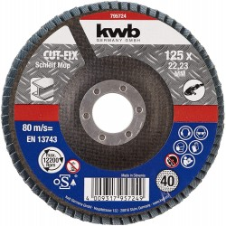 Discos Láminas 125X22mm  G80